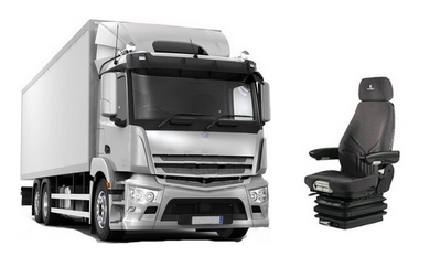 Siège Grammer pour poids lourds Daf, Iveco, Man, Mercedes-Benz, Renault-Trucks, Scania et Volvo.
